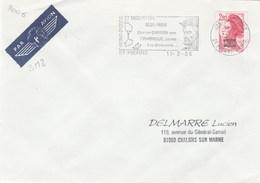 SAINT PIERRE ET MIQUELON YT 464 SEUL SUR LETTRE 11/3/86 POUR CHALONS -  TDA167 - St.Pierre Et Miquelon