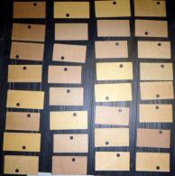 TICKETS  DE METRO  LOT DE 32 TICKETS ANCIENS   2° CLASSE X ET Y  LOT N°15 - Titres De Transport
