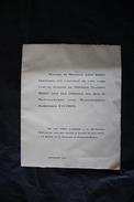 PAP - Lot De Deux Faire-part De 1927 Concernant Les Familles Bidet, Fauchon Et Fauchon-Bidet - Paray Le Monial, Macon - Mariage