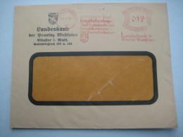 Firmen Freistempel , Meterstempel Auf Beleg Aus   1932 , Münster - Deutschland