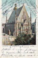 [DC9850] CPA - GERMANIA - LEIPZIG - THOMASKIRKE - Viaggiata 1898 - Old Postcard - Leipzig