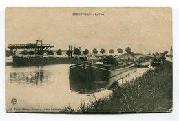 CPA 55 :  LEROUVILLE  Port Avec Canal Et Péniche  VOIR  DESCRIPTIF  §§§ - Lerouville