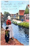 [DC9865] CPA - OLANDA - PAESI BASSI - VOLENDAM - Viaggiata 1929 - Old Postcard - Volendam