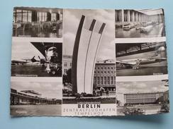 Zentralflughafen TEMPELHOF () Anno 19?? ( Zie Foto Details ) !! - Tempelhof