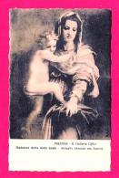 [DC9887] CPA - FIRENZE - R. GALLERIA UFFIZI - MADONNA DETTA DELLE ARPIE ANDREA DEL SARTO - Viaggiata 1910 - Old Postcard - Pittura & Quadri