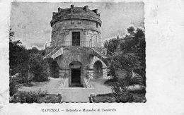 [DC9904] CPA - RAVENNA - ROTONDA O MAUSOLEO DI TEODORICO - Viaggiata 1907 - Old Postcard - Ravenna
