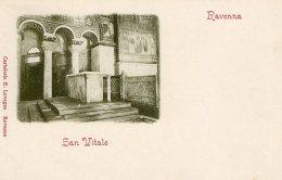 [DC9906] CPA - RAVENNA - SAN VITALE - Non Viaggiata - Old Postcard - Ravenna