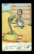 Illustrateur   ???   Charmeur De Serpent ( Slang ) - Illustrators & Photographers