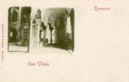 [DC9912] CPA - RAVENNA - SAN VITALE - Non Viaggiata - Old Postcard - Ravenna