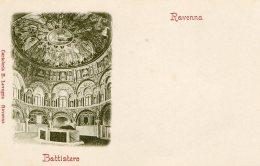 [DC9916] CPA - RAVENNA - BATTISTERO - Non Viaggiata - Old Postcard - Ravenna