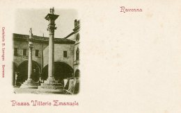 [DC9920] CPA - RAVENNA - PIAZZA VITTORIO EMANUELE - Non Viaggiata - Old Postcard - Ravenna