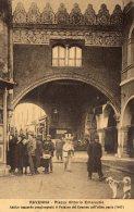 [DC9928] CPA - RAVENNA - PIAZZA VITTORIO EMANUELE - ANTICO RACCORDO CONGIUNGENTE  - Viaggiata 1916 - Old Postcard - Ravenna