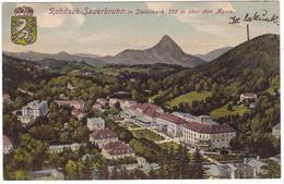#7503 Slovenia, Rohitsch Sauerbrunn, Rohatska Slatina Postcard Written Unused 1907: Panorama - Slovénie