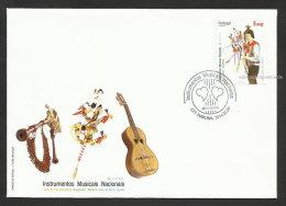 Portugal Madère Madeira Europa CEPT 2014 Instruments Musique Brinquinho FDC Musical Instruments FDC - Europa-CEPT