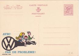 PUB N° 1990 - V.W. (Voitures Volkswagen) - FR/NL - Etat Neuf - Publibels
