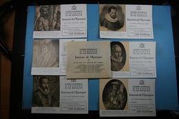 Lot De 25 Buvards Dont Une Série Complète De 6 ( Caisse Générale D'Epargne Et De Retraite) - Collections, Lots & Series