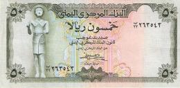 YEMEN ARABE REPUBLIQUE   50 Rials   (1973)   Sign.7   P. 15b   SUP++ - Yémen