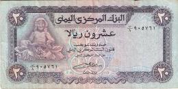 YEMEN ARABE REPUBLIQUE   20 Rials   ND (1985)   Sign.8   P. 19b - Yémen