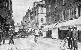[DC9000] CPA - PARMA - VIA CAVOUR - ANIMATA - Viaggiata 1910 - Old Postcard - Parma