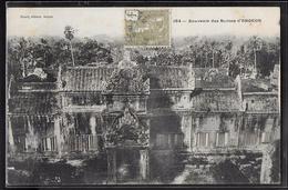 CPA CAMBODGE - Angkor, Souvenir Des Ruines - Cambodia
