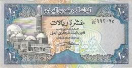 YEMEN ARABE REPUBLIQUE   10 Rials   ND (1990-)   Sign.8   P. 23a - Yémen