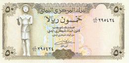 YEMEN ARABE REPUBLIQUE   50 Rials   ND (199?)   Sign.8   P. 27A   UNC - Yémen