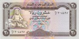 YEMEN ARABE REPUBLIQUE   20 Rials   ND (1990)   Sign.8   P. 26b   UNC - Yémen