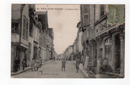 32. Bar Sur Seine - La Grande Rue , Café , Animation -10 - - Bar-sur-Seine