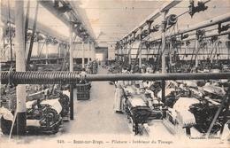 ¤¤  -  549   -  BESSE-sur-BRAYE   -  Filature  -  Intérieur Du Tissage  -  ¤¤ - France