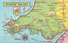 Pays De Galles     :  South  Wales     Ré 2729 - Pays De Galles