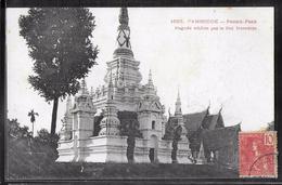 CPA CAMBODGE - Pnomh-Penh, Pagode édifiée Par Le Roi Norodom - Cambodia