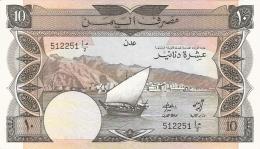 YEMEN DEMOCRATIQUE REPUBLIQUE   10 Dinars   ND (1984)   Sign.3   P. 9a   SUP++ - Yémen