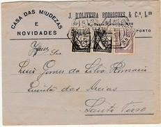 Cover * Casa Das Miudezas E Novidades * J. D' Oliveira Rodrigues & Cª. Lda. * Porto * 1935 * Portugal - Advertising