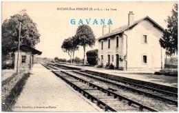28 SOUANCE-au-PERCHE - La Gare   (Recto/Verso) - Frankrijk