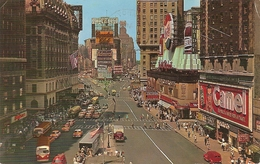 Etats-Unis  :  Time Square  Nex York City  Crossroads Of The World      Réf 2746 - Time Square