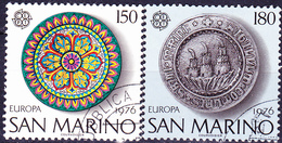 San Marino - Europa (MiNr: 1119/20) 1976 - Gest Used Obl - Europa-CEPT