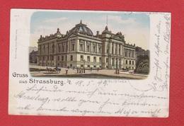 Gruss Aus Strasbourg  --  1899 - Strasbourg