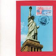 Carte Maximum Du 4/11/1986  ( La Liberté  NEW- YORK ) - Cartes-maximum