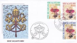 Vatikan, 2005: Sede Vacante MMV Michel-No.1514-1516 FDC (FILAGRANO) - Papes