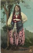 Pays Div-ref H612- Albanie - Danzatrice Albanese - Danseuse Albanaise - Carte Bon Etat  - - Albanie