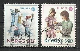 NORWAY 1989 - EUROPA - CPL. SET - OBLITERE USED GESTEMPELT USADO - 1989