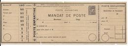 PSEUDO-ENTIER : POSTE ENFANTINE (PETIT FORMAT) - MANDAT De POSTE - Entiers Postaux