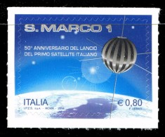 """Italia Repubblica 2014 """"San Marco 1"""", Primo Satellite Italiano € 0,80 MNH** Integro - 2011-...:  Nuovi"""