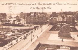 Le Havre Vue D'ensemble De La Place Gambetta Du Bassin Du Commerce Et Du Bassin Du Roy - Le Havre