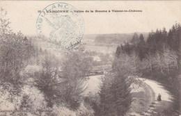 CPA Vallée De La Biesme à Vienne Le Château. Carte De  1914. Cachet Bleu AMBULANCE. - Other Municipalities