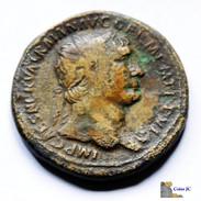 Roma - Sestercio - TRAJANO - 98/117 DC. - 3. Les Antonins (96 à 192)