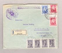 Griechenland Athen 14.12.1926 R-Brief Nach Zürich - Lettres & Documents