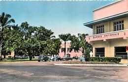 Pays Div-ref H582- Afrique - Cameroun - Douala - La Bnci Et Chambre De Commerce - Petit Plan Voitures -automobile - - Cameroun