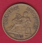 France 1 Franc Chambre De Commerce - 1926 - France