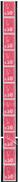 Marianne De Bequet -  Roulette De 11 Timbres Du 0,50F (N° 1664) - N° 61** - Coil Stamps